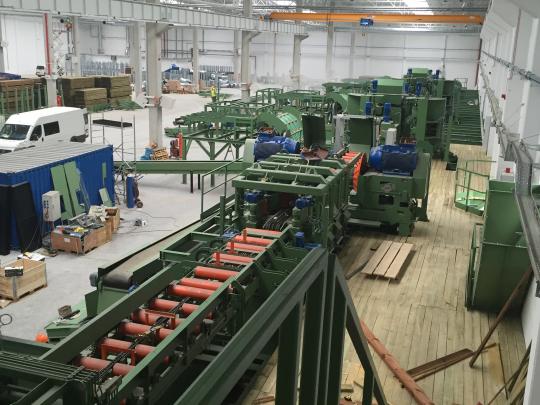 ETAP VI - Przygotowanie stanowisk produkcyjnych